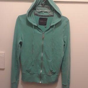 💥Gorgeous Green Victorias Secret Hoodie/ZipUp